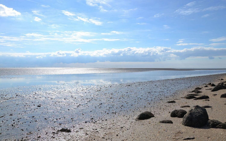 Endloses Wattenmeer